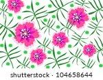 flower | Shutterstock .eps vector #104658644