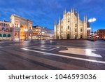 panorama of the piazza del... | Shutterstock . vector #1046593036