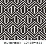 vector seamless pattern. modern ... | Shutterstock .eps vector #1046594686