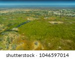 aerial view of rivers  streams... | Shutterstock . vector #1046597014