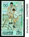 thailand   circa 1981  a stamp... | Shutterstock . vector #104659880