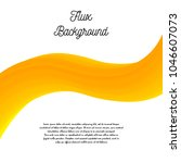flux background. abstract... | Shutterstock . vector #1046607073