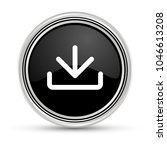 download black button with...