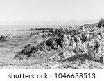 stony beach in greece | Shutterstock . vector #1046638513