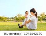 family lifestyle scene of...   Shutterstock . vector #1046642170