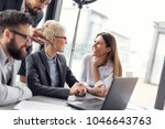 group of business people... | Shutterstock . vector #1046643763