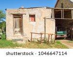 derelict storeroom on farm in...   Shutterstock . vector #1046647114