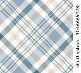 seamless plaid check pattern in ... | Shutterstock . vector #1046666428