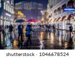 crowd of people walking on... | Shutterstock . vector #1046678524