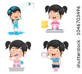 vector illustration of kid...   Shutterstock .eps vector #1046703496
