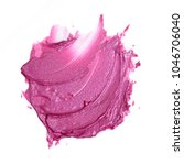 smear glitter hyper pink creamy ... | Shutterstock . vector #1046706040