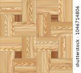 wood floor parquet seamless...   Shutterstock .eps vector #1046714806