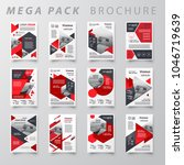 mega pack design template flyer ... | Shutterstock .eps vector #1046719639