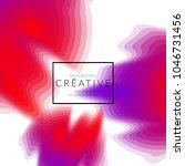 minimal cover banner template....   Shutterstock .eps vector #1046731456