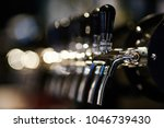 craft beer tap | Shutterstock . vector #1046739430