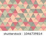 abstract 3d triangle background ... | Shutterstock .eps vector #1046739814