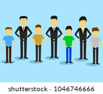 people all style flat design. | Shutterstock .eps vector #1046746666