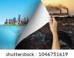 change concept  woman hand...   Shutterstock . vector #1046751619