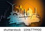 forex candlestick pattern.... | Shutterstock . vector #1046779900