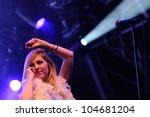 barcelona   june 2  sarah... | Shutterstock . vector #104681204