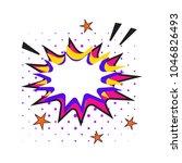 comic speech bubbles set....   Shutterstock .eps vector #1046826493