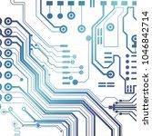 vector circuit board... | Shutterstock .eps vector #1046842714
