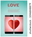 online dating concept love has... | Shutterstock .eps vector #1046848879