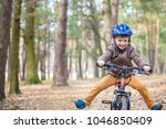 happy kid boy of 3 or 5 years... | Shutterstock . vector #1046850409
