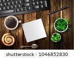 modern workspace vector set...   Shutterstock .eps vector #1046852830