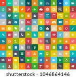 web design icons  graphic... | Shutterstock .eps vector #1046864146