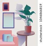 vector illustration of living... | Shutterstock .eps vector #1046866819