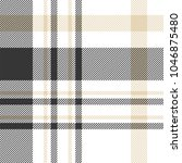 seamless plaid check pattern in ... | Shutterstock .eps vector #1046875480