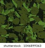 oil painting on canvas handmade....   Shutterstock . vector #1046899363