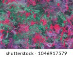 colorful wet abstract paint... | Shutterstock . vector #1046917579