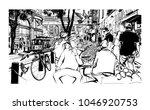 san francisco  historic street... | Shutterstock .eps vector #1046920753