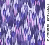 colorful smudged ikat print  ... | Shutterstock .eps vector #1046923336