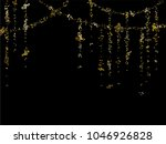 gold flying musical notes...   Shutterstock .eps vector #1046926828