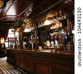 london   may 5  interior of pub ... | Shutterstock . vector #104693150