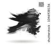 grey  brush stroke and texture. ... | Shutterstock .eps vector #1046938156