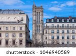 saint jacques tower  located... | Shutterstock . vector #1046940589