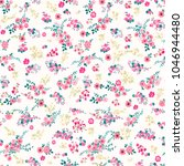 seamless pattern in small... | Shutterstock . vector #1046944480