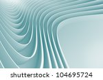 3d abstract architecture... | Shutterstock . vector #104695724