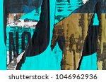 old posters grunge textures... | Shutterstock . vector #1046962936