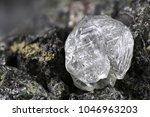 natural diamond nestled in... | Shutterstock . vector #1046963203