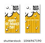 set of st. patrick's day party...   Shutterstock .eps vector #1046967190