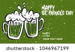 happy st. patrick's day banner. ...   Shutterstock .eps vector #1046967199