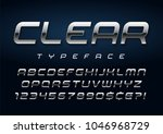 vector shiny silver display... | Shutterstock .eps vector #1046968729