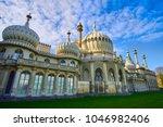 the brighton royal... | Shutterstock . vector #1046982406