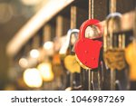 Locks Of Loving Couples On A...