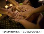 traditional asian thai four...   Shutterstock . vector #1046990464